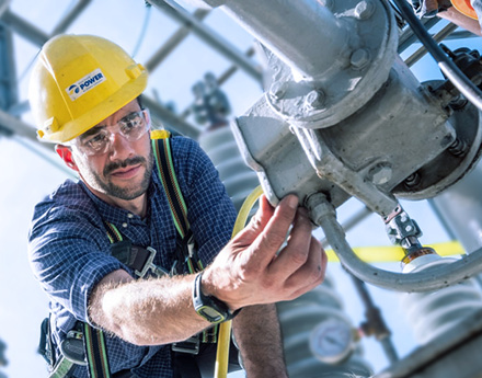 A Yellow Hat Electrical Engineer