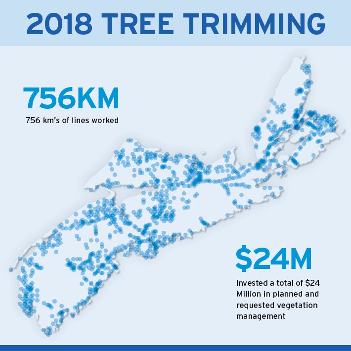 Tree Trimming Map