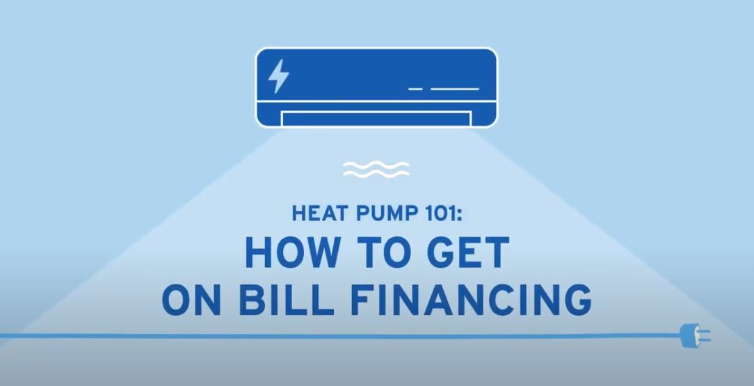 heat pump on bill financing