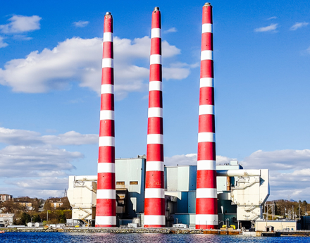 the Tufts Cove Generating Station